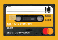 KEXP BECU Debit Card