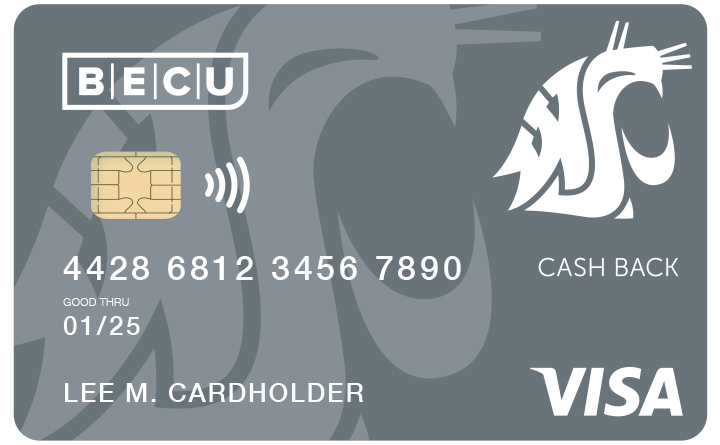 WSU Cash Back Credit Card