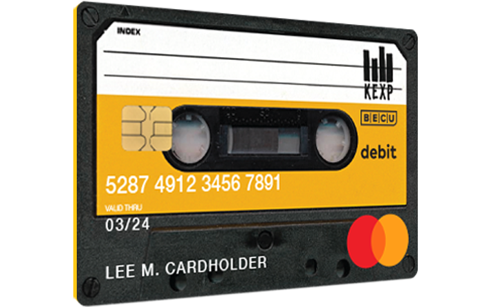 KEXP Debit Card Image